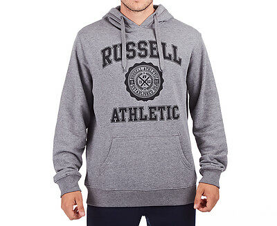 Russell Athletic Men's Core Arch Hoodie - Dark Oxford Grey