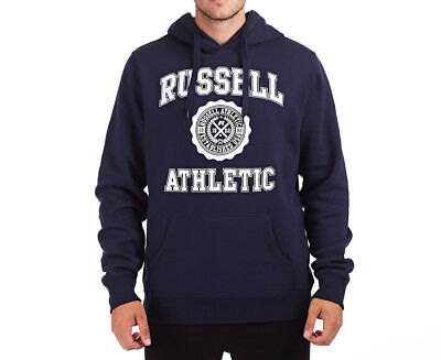 Russell Athletic Men's Core Arch Hoodie - Navy Blue