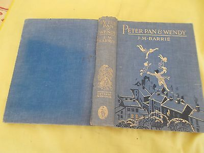 PETER PAN AND WENDY illustrated by GWYNEDD M. HUDSON.  c 1932