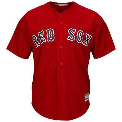 Majestic Boston Red Sox Cool Base MLB Trikot Alternate Rot