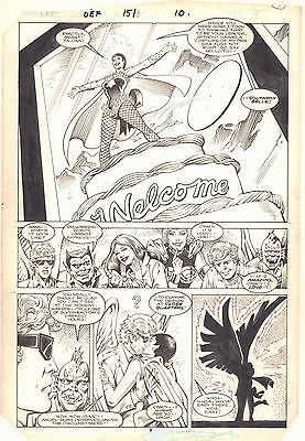 Defenders #151 p.8 - Southern Belle (Candy) Intro - 1986 art by Don Perlin