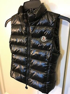 Nwt. MONCLER Infant Unisex Puffer Quilted Down Vest Size 4T