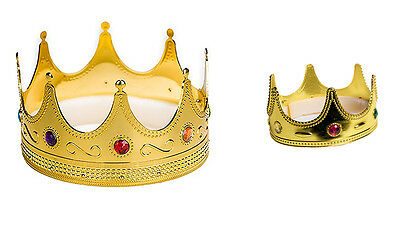 Adult Regal King & Queen Crowns fnt