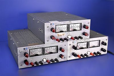 3 (Three) Packard 6205B HP DC Power Supplies 0-40V/20V @ 0.3A/0.6A Working!