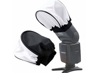 Soft Flash Bounce Diffuser Softbox For Canon Nikon Sony Pentax Olympus Contax UK
