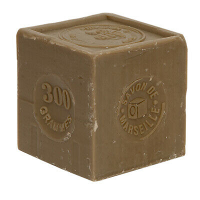 FRENCH SOAP ,SAVON DE MARSEILLE 300g CUBE,NATURAL,OLIVE,LAVENDER, FLAT POSTAGE