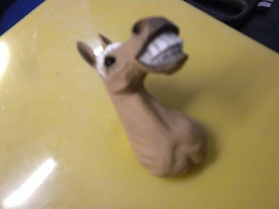 Beige Laughing Horse Magnet. Cute Item For Collectors!