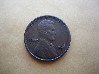 1926-S Lincoln Cent Xf Key Date