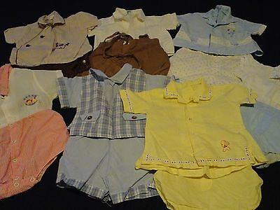 VINTAGE 50's BOYS Clothes~BABY Toddler~SHORTS~Shirts, Sets Lot of 13