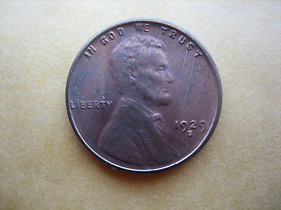 1929-S Lincoln Cent Gem Bu Red Beauty!!