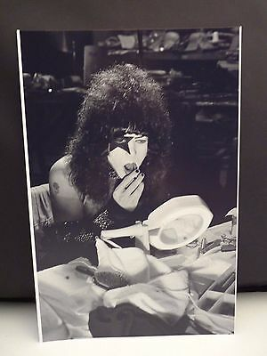 Kiss 1977 LA Forum Paul Stanley Backstage 8x12 Photo #20 From Original Negative