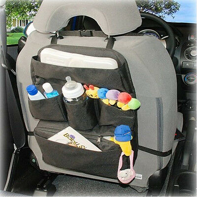 Car Caddy Car Seat Organizer for Baby Bottles Toys Books & More