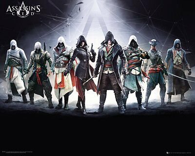 Merchandising Assassin's Creed - Characters (Poster Mini 40x50 Cm)