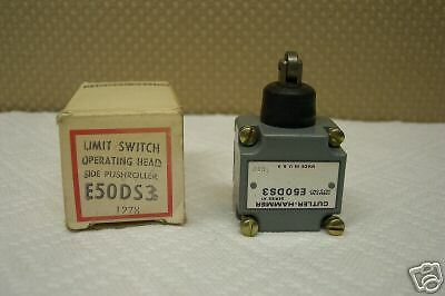 Cutler Hammer E50Ds3 Limit Switch Side Pushroller Operating Head New In Box