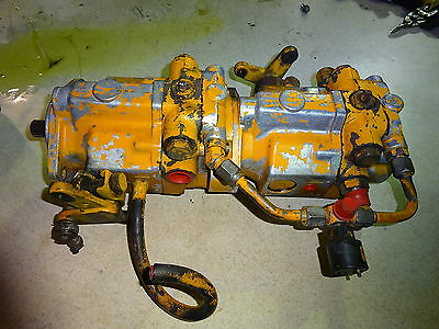 Case 1845B Hydrostatic Transmission Pump Hydraulic Skid Steer Loader 1845