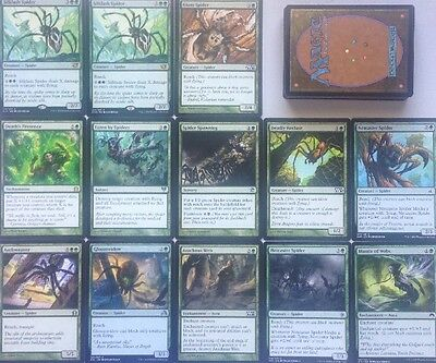 Instant SPIDER AND WEB DECK! Ready To Play 60 Cards Mtg Green
