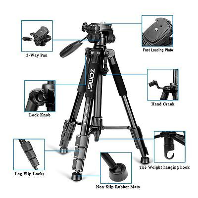 Zomei Q111 Professional Heavy Duty Aluminium Tripod&Pan Head for DSLR Camera e