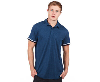 Adidas Men's Climachill Polo - Blue