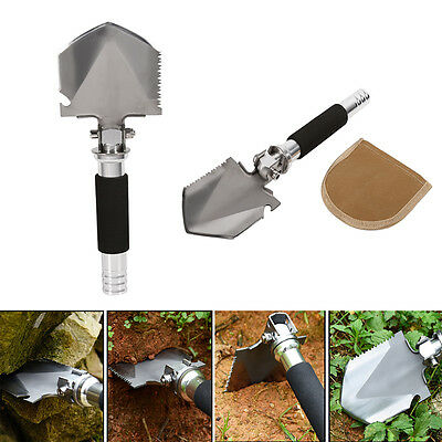 Folding Shovel 35cm Camping Garden Military Style Hiking Outdoor Survival Tool