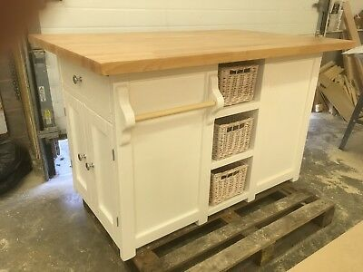 Bespoke Hand Made Kitchen Island made to order