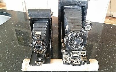 2 Vintage KODAK Rangefinder NO.3A & 2A see other camera auctions