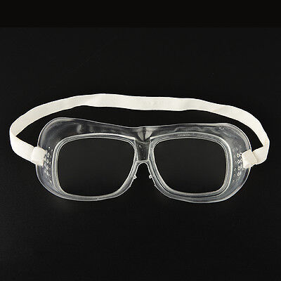 WK Eye Protection Protective Lab Anti Fog Clear Goggles Glasses Vented Safety ST