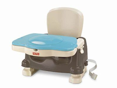 Fisher-Price Healthy Care Deluxe Booster Seat Brown/Tan Chairs Feeding Baby