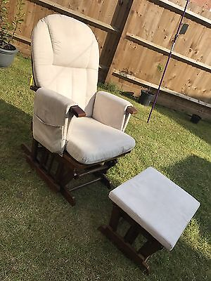 Mothercare Gliding Nursery Chair & Footstool