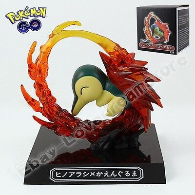 Pokemon Pocket Monsters Cyndaquil 9cm/3.6'' PVC Figure New In Box&No Box #155