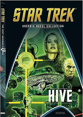 Star Trek Graphic Novel Collection Eaglemoss Collection Hive #D10 - Free p&p