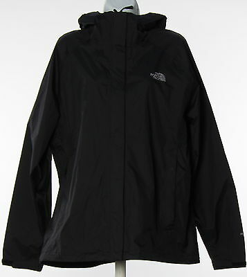 Women's THE NORTH FACE Black Polyester Blend Bomber Jacket Size XL