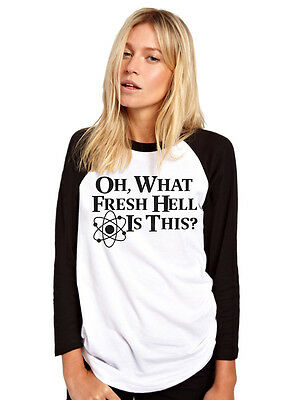 Oh What Fresh Hell Is This Womens Baseball Top