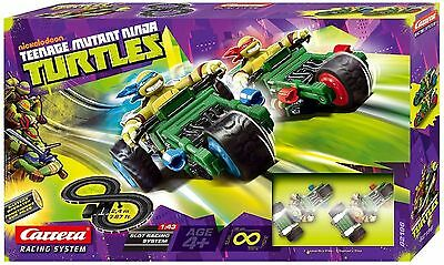 Toy Teenage Mutant Ninja Turtles Carrera Slot Racing Race Track Set NEW BOXED
