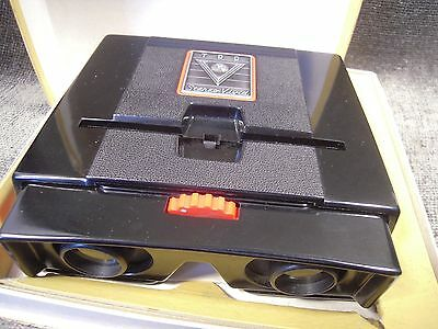1950s Vintage TDC Stereo Slide Vivid Deluxe Viewer in Box With Instructions