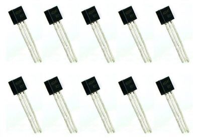 10 x BC547 NPN Bipolar General Purpose Transistor BC547B TO-92
