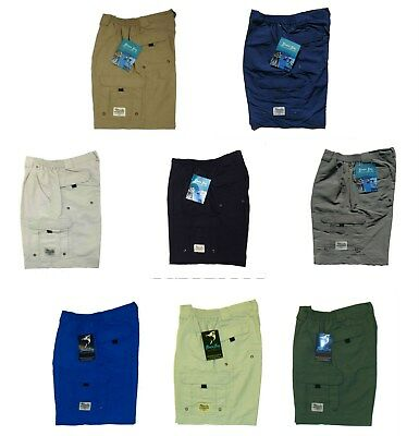 Bimini Bay Outfitters BOCA GRAND Mens Performance Nylon Shorts pic size color