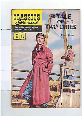 Classics Illustrated #6 (NO RESERVE) A Tale of Two Cities