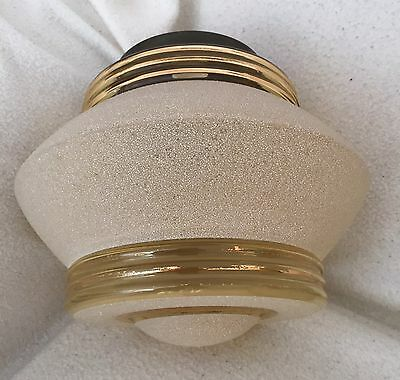 Art Deco 1930s Glass Ceiling Pendant Lampshade