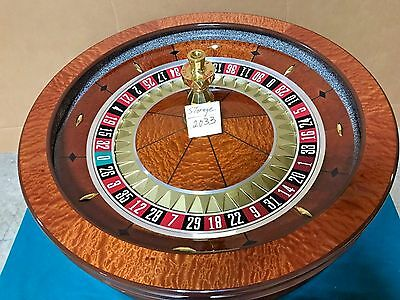 32 Inch Roulette Wheel (Used) #12033 Single 0