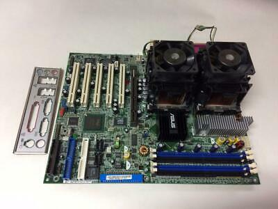 Asus Pc-Dl Rev 1.05 875P + 2X Xeon 2.8Ghz + I/o Shield Tested