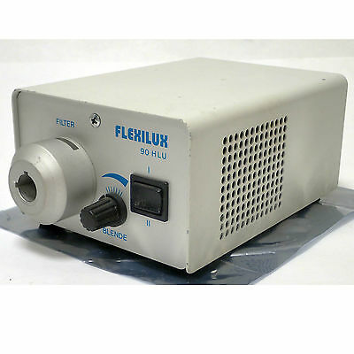 Scholly Fiberoptik Flexilux 90 Hlu Fiber Optic Cold Light Source 220Vac 50/60 Hz