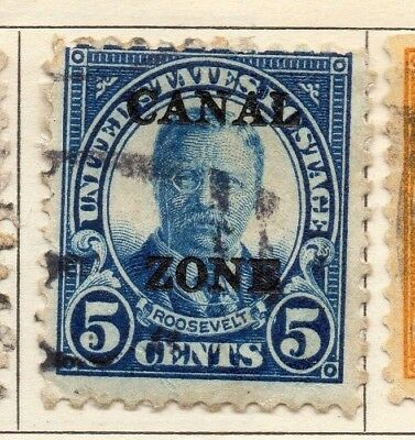 Panama 1924-27 Early Issue Fine Used 5c. Optd 150294