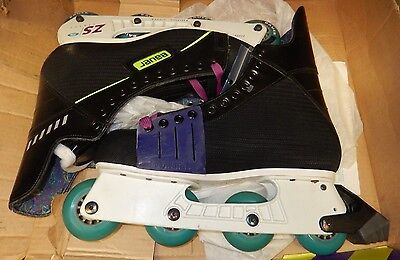 Bauer Stitched Street Sr Skate Light Weight Chassis - Laced Inline Skates 11 1/2