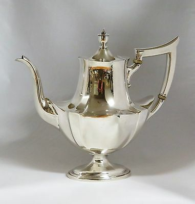 Gorham Plymouth Sterling Silver Coffee Pot 2 3/8 Pint 2441~ NOMONO