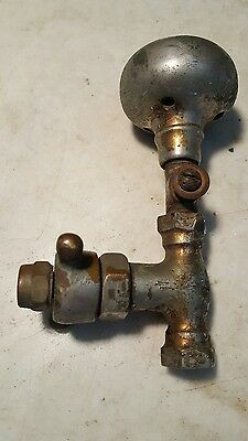 Antique Water Fountain Amusement Park Hydrant Old Time Nickel Plated Brass