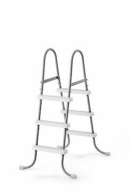 "Intex Steel Frame Above Ground Swimming Pool Ladder for 42"" Wall Height Pools"