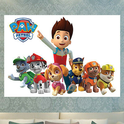 Paw Patrol A4 A3 Poster Print Picture Photo A4 A3 260Gsm Glossy Wall Art