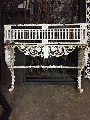 Spanish Revival Iron Planter With Flower Box