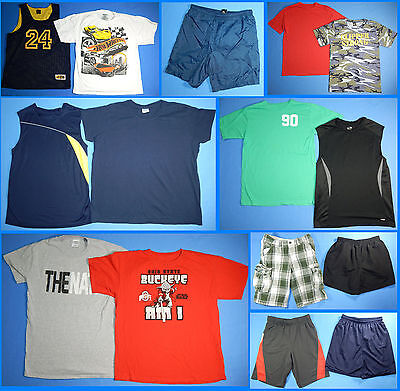 15 Piece Lot of Nice Clean Boys Size 14 Spring Summer Everyday Clothes ss91