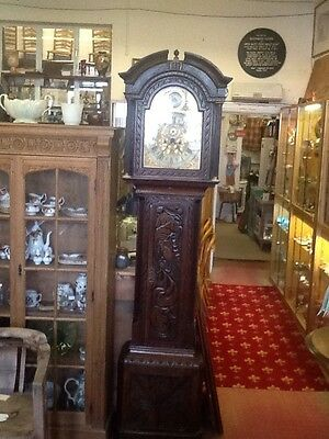 18th Century 8 Day Grandfather Clock
